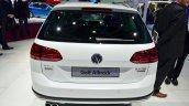 VW Golf Alltrack rear at the 2014 Paris Motor Show