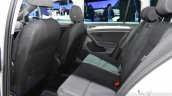 VW Golf Alltrack  rear seats at the 2014 Paris Motor Show