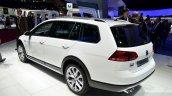 VW Golf Alltrack rear three quarter at the 2014 Paris Motor Show
