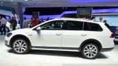 VW Golf Alltrack side at the 2014 Paris Motor Show