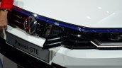 VW Passat GTE charging flap at the 2014 Paris Motor Show