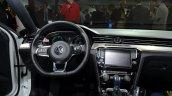 VW Passat GTE cockpit at the 2014 Paris Motor Show