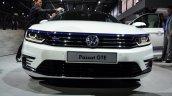 VW Passat GTE front fascia at the 2014 Paris Motor Show