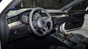 VW Passat GTE interior at the 2014 Paris Motor Show