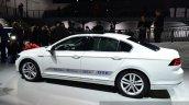 VW Passat GTE side at the 2014 Paris Motor Show
