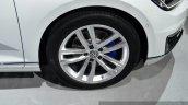 VW Passat GTE wheel at the 2014 Paris Motor Show