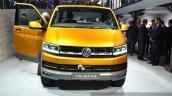 VW Tristar concept front at the 2014 Paris Motor Show