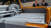 VW Tristar concept loading bay at the 2014 Paris Motor Show