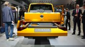 VW Tristar concept rear at the 2014 Paris Motor Show