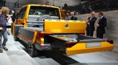VW Tristar concept rear quarter at the 2014 Paris Motor Show