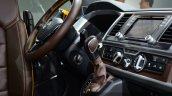 VW Tristar concept steering at the 2014 Paris Motor Show