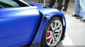 VW XL Sport front wheel at the 2014 Paris Motor Show