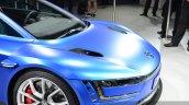 VW XL Sport hood at the 2014 Paris Motor Show