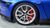 VW XL Sport wheel at the 2014 Paris Motor Show