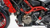 Yamaha MT-07 Moto Cage engine at the INTERMOT 2014