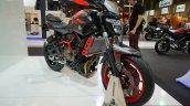 Yamaha MT-07 Moto Cage front three quarters left at the INTERMOT 2014