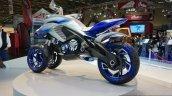 Yamaha O1GEN Concept rear three quarters at the INTERMOT 2014