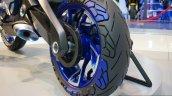 Yamaha O1GEN Concept rear wheel at the INTERMOT 2014