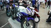 Yamaha YZF-R15 at the 2014 Colombo Motor Show Sri Lanka