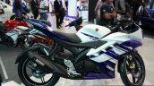 Yamaha YZF-R15 side at the 2014 Colombo Motor Show Sri Lanka