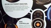 2014 Mini Cooper brochure scan driving excitement analyzer