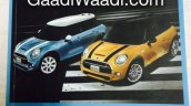 2014 Mini Cooper brochure scan front page