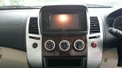 2014 Mitsubishi Pajero Sport facelift center console India
