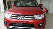 2014 Mitsubishi Pajero Sport facelift front India