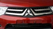 2014 Mitsubishi Pajero Sport facelift grille India