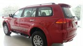 2014 Mitsubishi Pajero Sport facelift rear quarter India