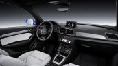 2015 Audi Q3 facelift interior