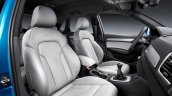 2015 Audi Q3 facelift leather seats