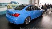 2015 BMW M3 rear three quarters for India