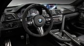 2015 BMW M4 with M Performance accessories dashboard