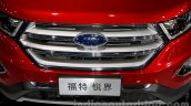 2015 Ford Edge LWB grille at 2014 Guangzhou Auto Show
