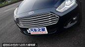 2015 Ford Escort China front fascia