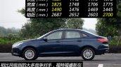2015 Ford Escort China profile
