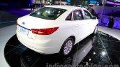 2015 Ford Escort rear quarter at Guangzhou Auto Show 2014