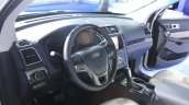 2015 Ford Explorer dashboard at the 2014 Los Angeles Auto Show