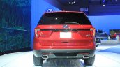 2015 Ford Explorer rear at the 2014 Los Angeles Auto Show