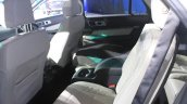 2015 Ford Explorer rear seat at the 2014 Los Angeles Auto Show