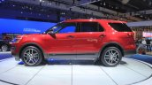 2015 Ford Explorer side view at the 2014 Los Angeles Auto Show