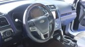 2015 Ford Explorer steering at the 2014 Los Angeles Auto Show