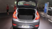 2015 Hyundai Accent boot at the 2014 Los Angeles Auto Show
