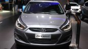 2015 Hyundai Accent front at the 2014 Los Angeles Auto Show