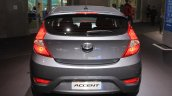 2015 Hyundai Accent rear at the 2014 Los Angeles Auto Show