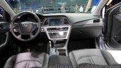 2015 Hyundai Sonata interior at 2014 Guangzhou Motor Show
