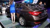 2015 Hyundai Sonata rear quarter at 2014 Guangzhou Motor Show