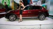 2015 Infiniti QX50 side at the Guangzhou Auto Show 2014