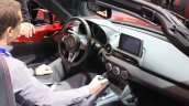 2015 Mazda MX-5 dashboard at the 2014 Los Angeles Auto Show